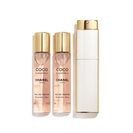 Chanel Coco Mademoiselle Eau De Parfum Twist And Spray 3 x 20 ml