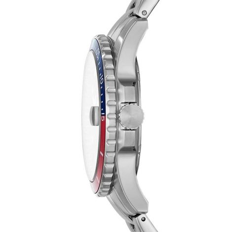 Fossil Men's Blue Diver Stainless Steel Bracelet Watch 42mm