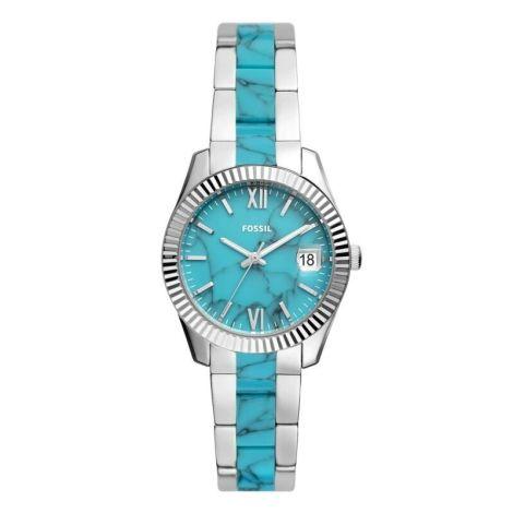 Fossil Women's Scarlette Stainless Steel 3 hand Bracelet Watch 32mm