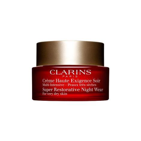 Clarins Crema Anti-Edad De Noche Para Piel Seca