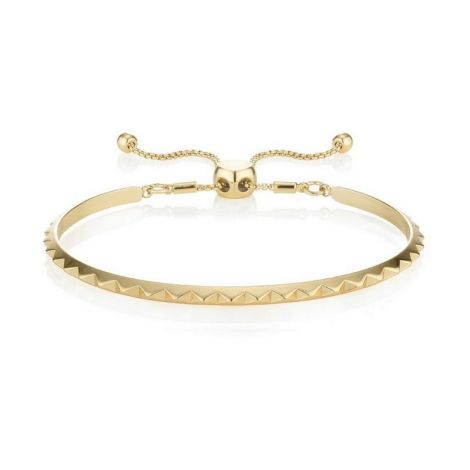 Buckley London Brazalet Pyramid Bangle Gold