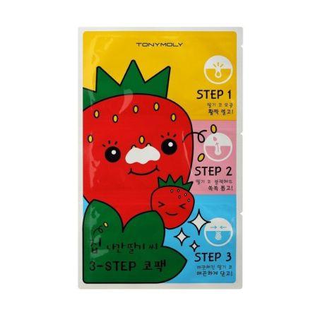 Tony Moly RUNAWAY STRAWBERRY SEEDS 3 STEPS