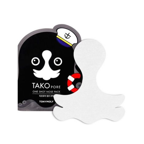 Tony Moly TAKOPORE ONE SHOT NOSE PACK