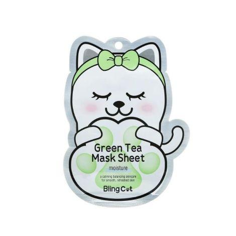 Tony Moly Mascarilla De Té Verde Bling Cat