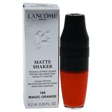 Lancome Matte Shaker Liquid Lipstick 186 Magic Orange